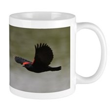 Redwing Over the River Small Mug