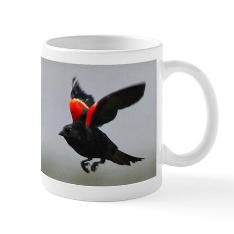 Redwing Flying Mug