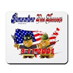 Remember the Heroes Firemand  Mousepad