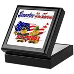Remember the Heroes Firemand Keepsake Box