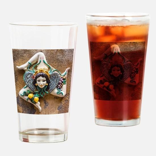 Unique Sicily Drinking Glass