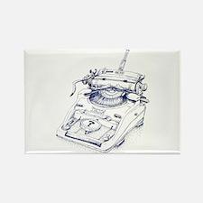 Seinsmaschine Rectangle Magnet