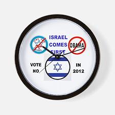 NO OBAMA 2012 Wall Clock