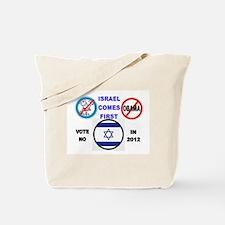 NO OBAMA 2012 Tote Bag