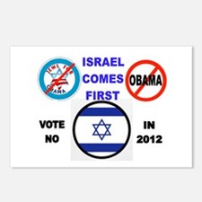 NO OBAMA 2012 Postcards (Package of 8)