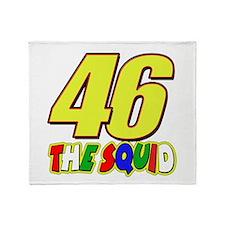 46 Squid Throw Blanket