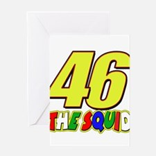 46 Squid Greeting Card