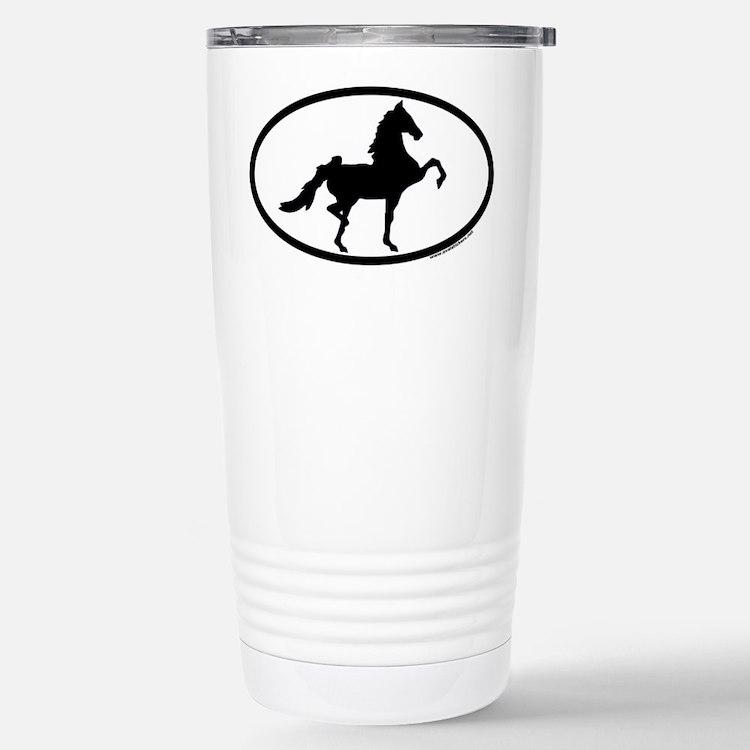 Cute Saddlebred Travel Mug