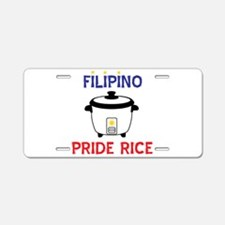 Pinoy Aluminum License Plate