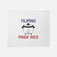 Cute Pinay Throw Blanket