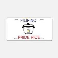 Filipino Aluminum License Plate
