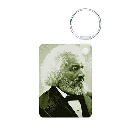 "Frederick Douglass ""Agitate!"" Aluminum Photo Keych"
