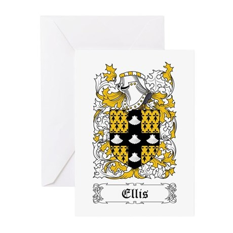 Ellis Greeting Cards (Pk of 10)