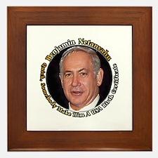 Funny Republican presidents Framed Tile