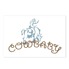 Cowbaby Postcards (Package of 8)