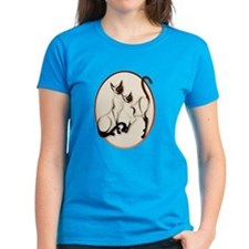 Two Siamese Cats Tee