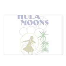 Hula Moons Postcards (Package of 8)