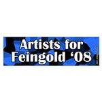 Artists for Russ Feingold 2008 Sticker