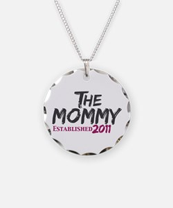 The Mommy Est 2011 Necklace