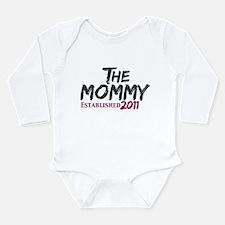 The Mommy Est 2011 Long Sleeve Infant Bodysuit