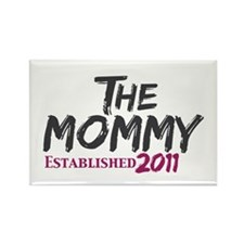 The Mommy Est 2011 Rectangle Magnet