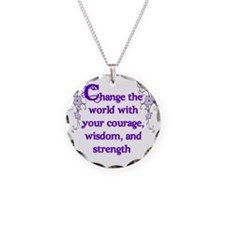 Courage, Wisdom and Strength Necklace