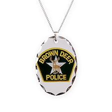 Brown Deer Police Necklace