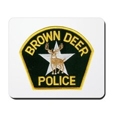 Brown Deer Police Mousepad