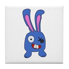 Mad Bunny Tile Coaster