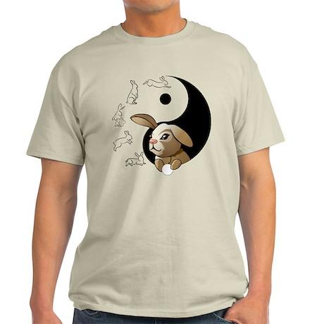 Flowing Bunny Principles Light T-Shirt