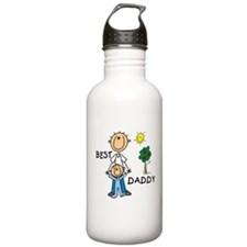 Best Daddy With Son Water Bottle