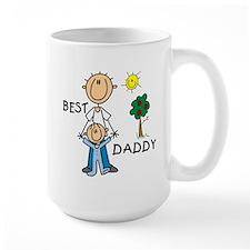 Best Daddy With Son Mug