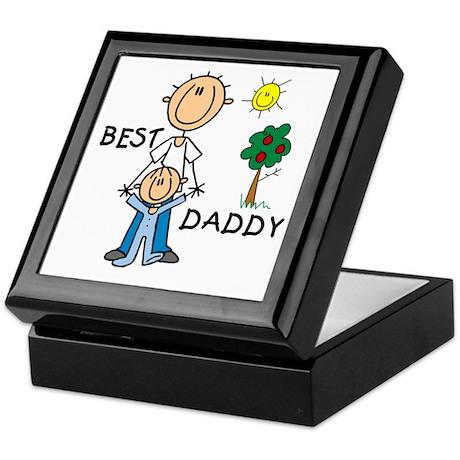 Best Daddy With Son Keepsake Box