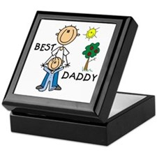 Best Daddy With Son Keepsake Box