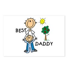 Best Daddy With Son Postcards (Package of 8)