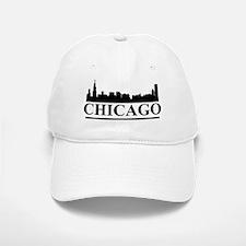 Chicago Skyline Baseball Baseball Cap