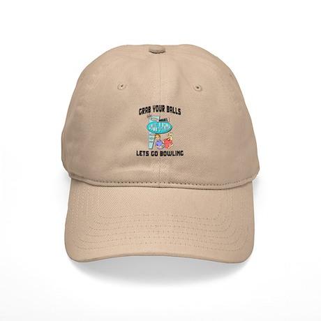 Grab Your Balls Lets Go Bowling Cap