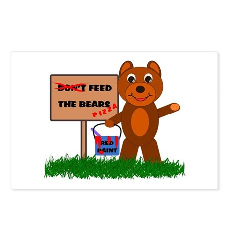 Feed Bear Cub Postcards (Package of 8)