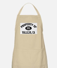 Property of Vallejo BBQ Apron