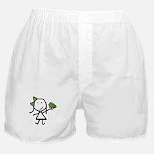 Girl & Frog Boxer Shorts