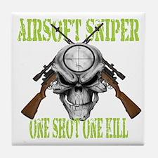 Airsoft Sniper Tile Coaster
