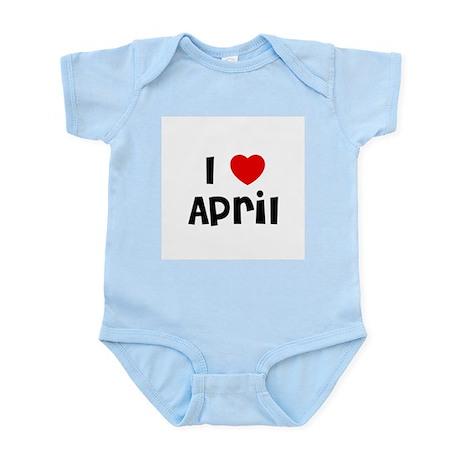I * April Infant Creeper