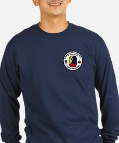 The Armor School Long Sleeve T-Shirt (Dark)
