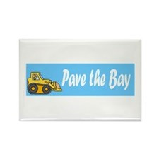 Cute Paved Rectangle Magnet