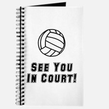 Volleyball Court Journal