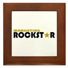 Marketing Rockstar 2 Framed Tile