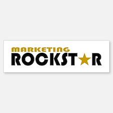 Marketing Rockstar 2 Bumper Bumper Sticker