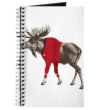 Moose Red Shirt Journal