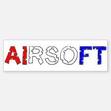 Airsoft RWB Bumper Bumper Sticker