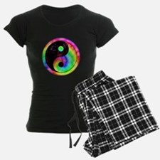 Rainbow Spiral Yin Yang Pajamas
